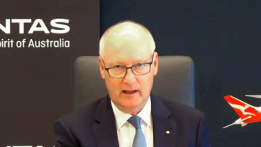 Qantas chairman Richard Goyder has slammed Queensland and WA's ongoing border closures.