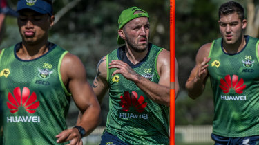Josh Hodgson and the Canberra Raiders have ramped up their emphasis on defence.