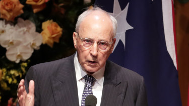 Former prime minister Paul Keating delivered a remarkable speech earlier this week.