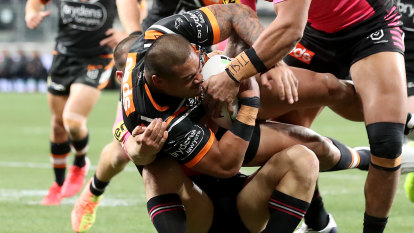 'No explanation': Tigers set to accept four-game ban for Leilua