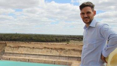 Greens MP Michael Berkman wants mine workers to work in mine rehabilitation.