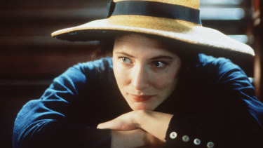 Cate Blanchett plays Lucinda in the 1998 film version of the Peter Carey novel.