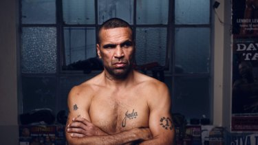 Angry Man: Anthony Mundine is furious about suggestions he would cheat to make the weight.