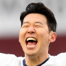 Son scores stoppage time goal to seal win for Spurs at Aston Villa