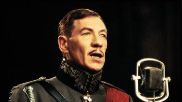 Ian McKellen as the fascist Richard III.