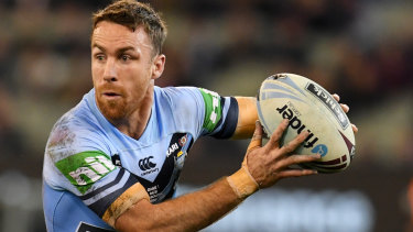 Mixed bag: James Maloney was part of everything good and bad for the Blues.