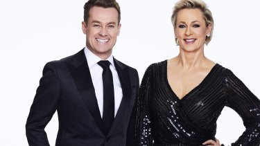 Grant Denyer and Amanda Keller will host a new version of Dancing with the Stars on Network Ten.