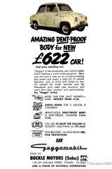 Goggo microcar advert circa 1960.
