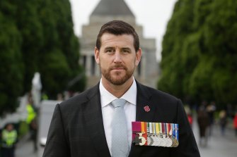 Ben Roberts-Smith pictured in 2017.
