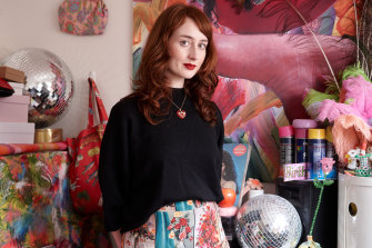 "Minna Gilligan: ""Putting together outfits is another form of art for me."""