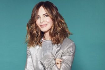Trinny Woodall, UK television personality and founder of the make-up brand Trinny London.