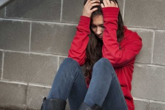 Close to half of teenage girls considered self harm compared to only 18 per cent of boys.