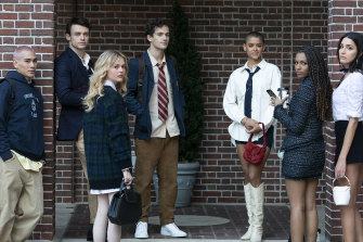 There's a new bunch of bratty, entitled offspring of Manhattan's super-rich in the new version of <i>Gossip Girl.