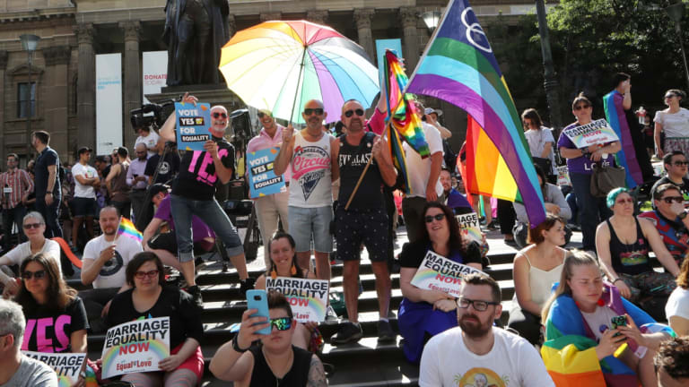 Australians voted to allow same-sex couples to marry in in November 2017.