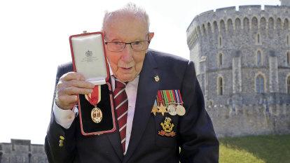 'He was a beacon of hope': UK's coronavirus hero Captain Tom Moore dies at the age of 100