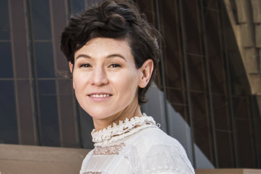 Actor Yael Stone, right, and Jean Hinchliffe, organiser of the School Strike 4 Climate, will speak at the All About Women festival.