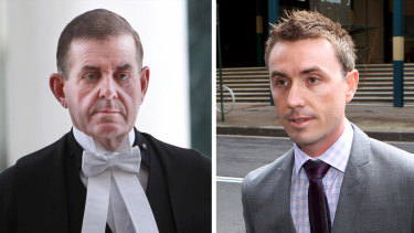 Peter Slipper and James Ashby.