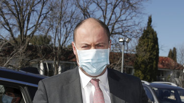 Treasurer Josh Frydenberg is desperate  to save the economy from illness.
