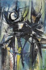 Tom Gleghorn, Nocturne, Lake Macquarie, 1958 (detail)