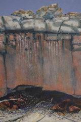 Tom Gleghorn, Landscape Altar – MacDonnell Ranges 1986 (detail)