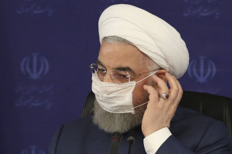 "President Hassan Rouhani: ""Our estimate is that so far 25 million Iranians have been infected with this virus and about 14,000 have lost their lives."""