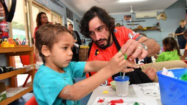 New man: For the now retired Johnathan Thurston, finding meaning off the field was crucial to success on it.