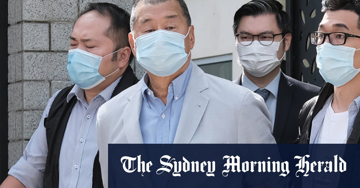 Who is Jimmy Lai the media tycoon arrested in Hong Kong? – Sydney Morning Herald