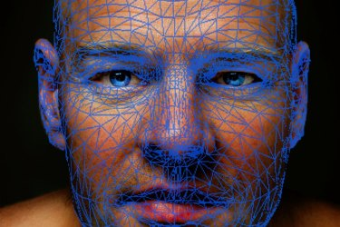 Biometric facial map. The federal government is experimenting with facial recognition for users of its online services.