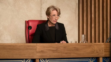 Emma Thompson plays Family Court judge Fiona Maye in The Children Act.
