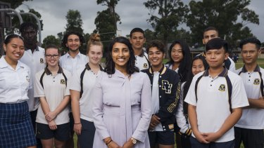 Yasodai Selvakumaran, from Rooty Hill High School, was a finalist in the Global Teacher Prize.
