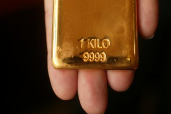 The price of gold has risen more than 30 per cent since late March to US$1963 an ounce.