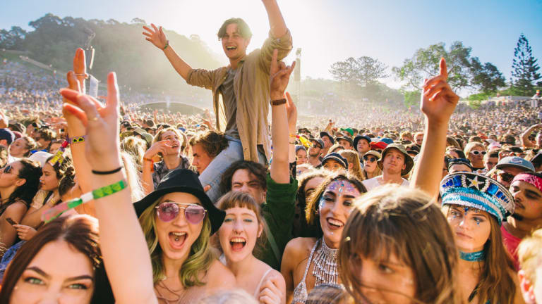 Splendour in the Grass is Australia's biggest music festival and a cashless spending bonanza.