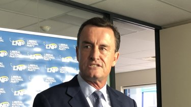 LNP president Gary Spence resigned from his position last year because he might be considered a prohibited donor.