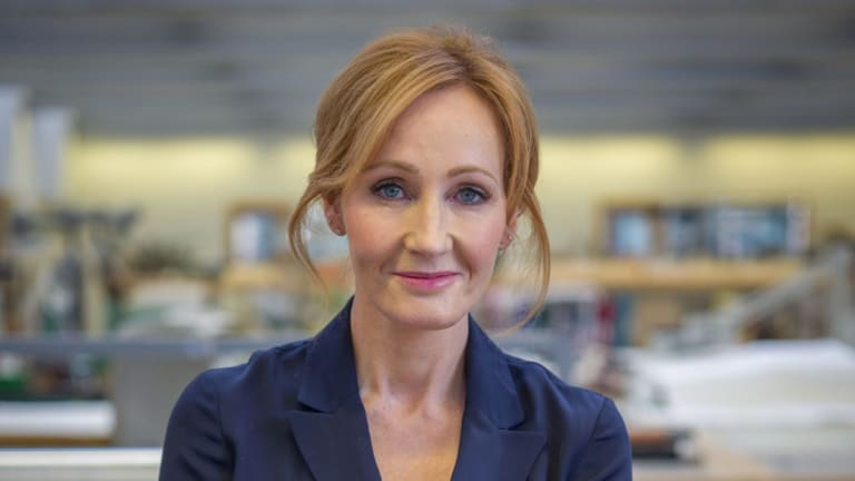 JK Rowling admits she doesn't like musicals, but is very happy with the stage adaptation of Harry Potter.