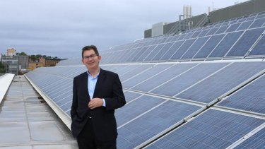 UNSW President Ian Jacobs said the agreement is part of the university's goal to be 100% carbon neutral.