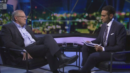Scott Morrison gives his account of 'anti-Islam' meeting in tense television interview