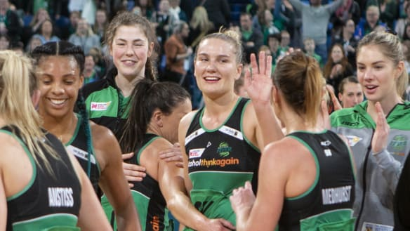 The stage is set: Netball grand final shapes up as arm wrestle