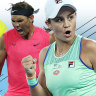 'Cat and mouse': What's it like to face off against Ash Barty or Rafael Nadal?