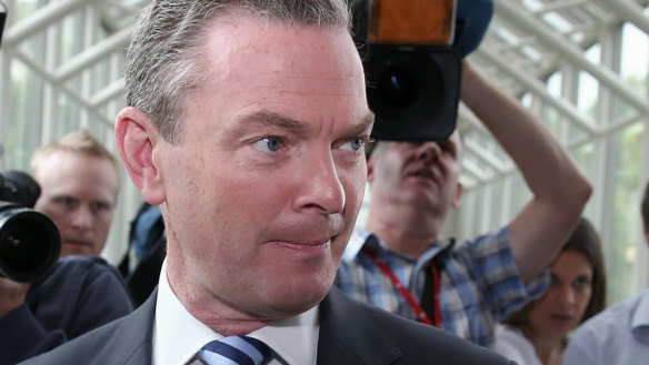 Christopher Pyne delivers damning verdict on the state of Australian politics