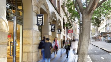 Thehome of BBQ King, 76-78 Liverpool Street, Sydney is on the market.