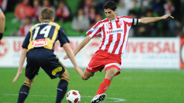 Making waves: Former Melbourne Heart defender Simon Colosimo is FIFPro's deputy general secretary.