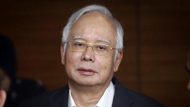 Arrested again: Former Malaysian PM Najib Razak.