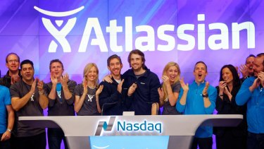 Atlassian listed in late 2015 with an IPO price of $US21 –  it now trades at about $US105.