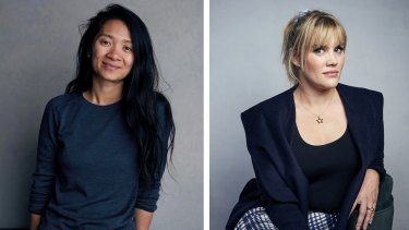 Nominated for best director at the Academy Awards: Chloé Zhao for Nomadland and Emerald Fennell for Promising Young Woman.
