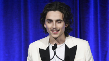 Timothee Chalamet, and moustache.