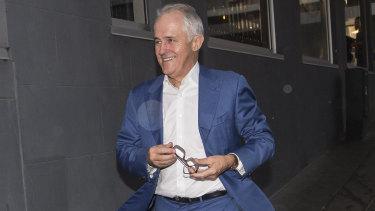 Former prime minister Malcolm Turnbull is helping NSW Premier Gladys Berejiklian.