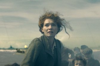 Eleanor Tomlinson as Amy in the BBC adaptation of HG Wells' The War of the Worlds.