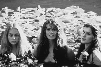 Portia de Rossi. Elle Macpherson and Kate Fischer in the film Sirens in 1994.