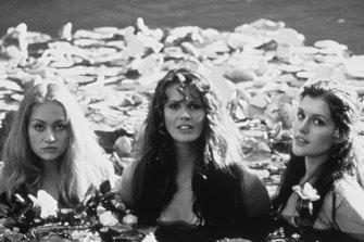 Portia de Rossi. Elle Macpherson and Kate Fischer in the film Sirens in 1994.