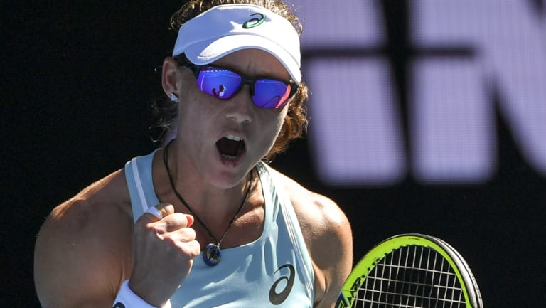 Stosur takes the place of the recently retired Casey Dellacqua.